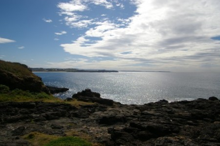 A view from Blowhole Point